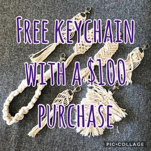 Free with $100 purchase!!!